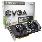 EVGA GeForce GTX 960 SSC ACX 2.0+ 4Go DDR5