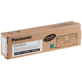Panasonic Kx-Fat472x Toner Noir (Ca. 2.000 Pages) S'adapte Kx-Mb2120, Kx-Mb2130, Kx-Mb2170
