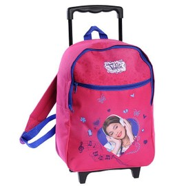 Sac � Dos Trolley 1 Compartiment Violetta Rose