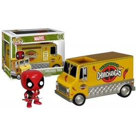 Funko - Figurine Marvel - Deadpool Chimichanga Truck Pop 12cm - 0849803053918