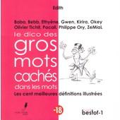 Le Dico Des Gros Mots Cach�s Dans Les Mots, Les Cent Meilleures D�finitions Illustr�es, 2014 de Edith