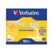 Verbatim - 10 x DVD+RW