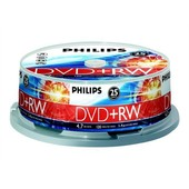 Philips DW4S4B25F - 25 x DVD+RW