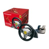 Thrustmaster Ferrari Universal Challenge 5-In-1 Racing Wheel - Ensemble Volant Et P�dales - Filaire - Pour Sony Playstation 2, Nintendo Gamecube, Pc, Nintendo Wii, Sony Playstation 3