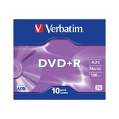 Verbatim - 10 x DVD+R