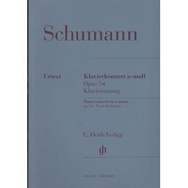 Concerto Pour Piano En la Mineur Op. 54 Urtext. Coédition Breitkopf (EB10660) piano solo et réduction de l'orch. au 2e piano Partition - piano