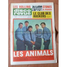 Disco Revue L'original N� 3 De Novembre 1964 - Les Animals - Les Stones � Paris