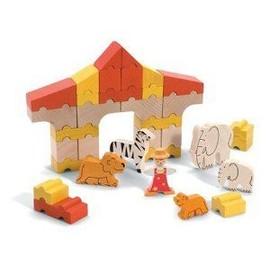Pack De Construction Cirque En Bois