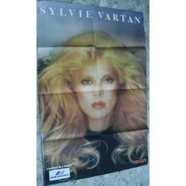 SYLVIE VARTAN RARE AFFICHE TOURNEE 1983