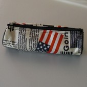 Trousse �colier Newspaper Usa Am�rique