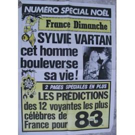 SYLVIE VARTAN AFFICHE PUBLICITAIRE FRANCE DIMANCHE