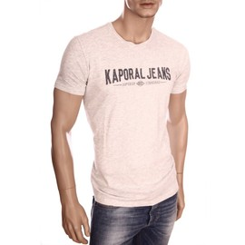 Kaporal - T-Shirt Homme Zurby Gris Col Rond Hiver 2016