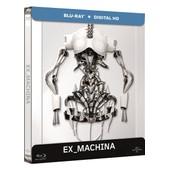 Ex Machina - Blu-Ray+ Copie Digitale - �dition Bo�tier Steelbook de Alex Garland