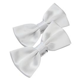 2pcs Classique Cravate En Polyester Pour Homme Tie Accessoires Smoking Suit