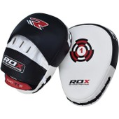 Authentique Rdx Discussion Pads Hook & Jab Mitaines Kick Boxing Mma Gr�ve Punching Coup Courb� Wbk