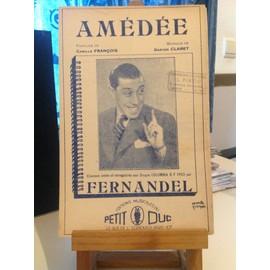 Fernandel - Amédée - François - Claret