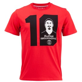 T-Shirt Psg Zlatan Ibrahimovic N�10 - Collection Officielle Paris Saint Germain - Blason Maillot - Tee Shirt Taille Enfant Gar�on
