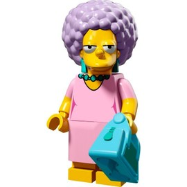 Mini Figurine Patty Bouvier - Lego Minifigures 71009 Les Simpsons S�rie 2
