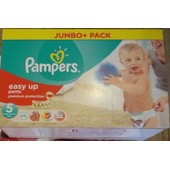 69 Couches Pampers Easy Up Emballees Taille 5