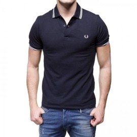 Polo Fred Perry Homme M3600 Marine 238