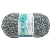 Grosse Pelote Laine 150g Jenny Faustine - Gris Chin�