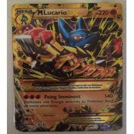 Carte Pok�mon 113/111 M�ga Lucario-Ex 220 Pv Secrete Ultra Rare Xy03 Neuf Fr