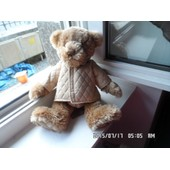 Doudou Peluche Ours Marron 2008 Burberry Fragrances Imper Imperm�able Beige