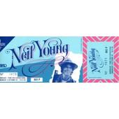 Billet Neil Young Concert Bordeaux Oct 82