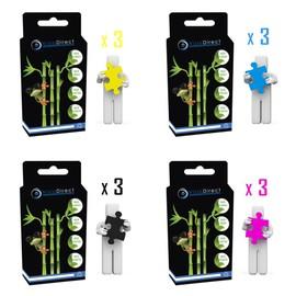 12 Cartouches D'encre Pour Epson Expression Home Xp405 Xp402 Xp305 Xp302 Xp30 Xp205 Xp202 Xp225, Certifi� Iso 9001 Iso 14001 - Visiodirect -