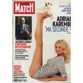 Paris Match / 08-09-2011 N�3251 : Adriana Karembeu (8p) - George Michael (3p) - Madonna (3p)