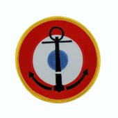 Patch Ecusson Brod� Backpack Aeronavale Marine Fran�aise Nationale Thermocollant