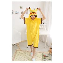 Nouveaut� Combinaison Short Animaux Kigurumi Court Pikachu Pok�mon D�guisement Kawaii D�tente Pyjama Original Taille S Au Xl Black Sugar Boutique Kgurumi Cosplay D�guisement Accessoires Mode Japonaise