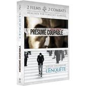 2 Films, 2 Combats R�alis�s Par Vincent Garenq : Pr�sum� Coupable + L'enqu�te - Pack de Vincent Garenq