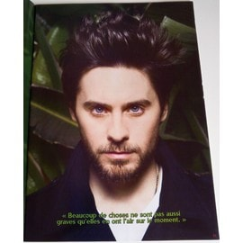 poster a4 jared leto (30 seconds to mars)