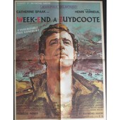 Affiche Week-End A Zuydcoote - 1964 Verneuil Belmondo