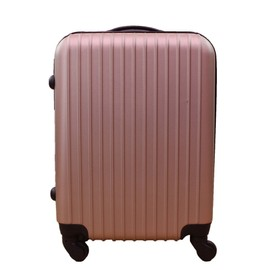 Icepak Bagage Valise Cabine Low Cost - 4 Roues - Rigide - Champagne
