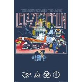 Led Zeppelin Poster - The Song Remains The Same (91x61 cm)