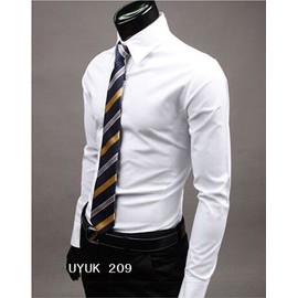 Chemise Manches Longues Homme Slim Fit Business
