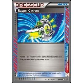 Rappel Cyclone 95/101 Explosion Plasma Vf