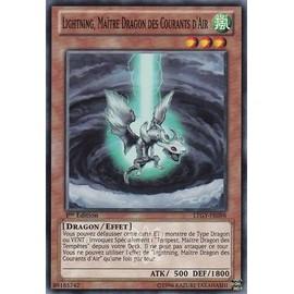 Lightning, Ma�tre Dragon Des Courants D'air Ltgy-Fr098 Yu-Gi-Oh ! Le Seigneur De La Galaxie Tachyon