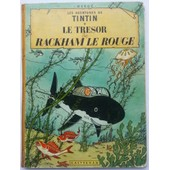 Tintin Le Tr�sor De Rackham Le Rouge 1958 B24 de herg�