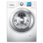 Lave-linge Samsung Eco Bubble WF1124XAC pose libre - chargement frontal