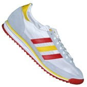 Adidas Originals - Basket - Sl 72 V22918 - Blanc Rouge Jaune