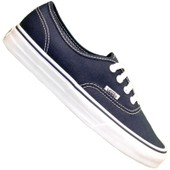 Vans - Basket - Authentic Off The Wall - Bleu Marine Coutures Blanches