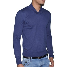 Kaporal - Pull Fin - Stretch - Homme - Linkh - Navy