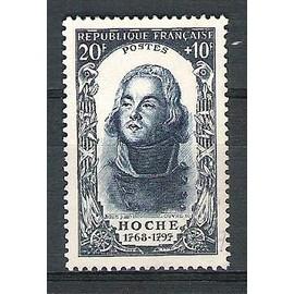 france, 1950, célébrités et personnages célèbres du 18è siècle (lazare hoche), n°872, oblitéré.