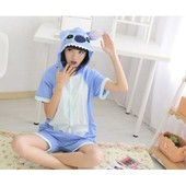 Kigurumi Court Combinaison Short �t� Pikachu Stitch Panda Totoro Dragon Rose Kawaii. Taille S � Xl. Black Sugar Kigurumi Cosplay Accessoire Mode Japonaise