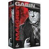 Gabin - Maigret : Maigret Et L'affaire Saint-Fiacre + Maigret Tend Un Pi�ge + Maigret Voit Rouge - Pack de Jean Delannoy