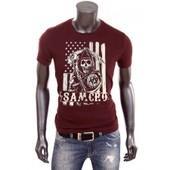 Nouveau T-Shirt Uraeus Sons Of Anarchy Samcro Drapeau Usa