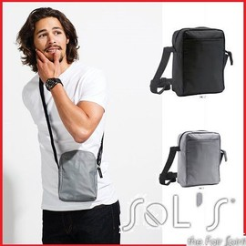 Sac � Bandouli�re Sol's Sacoche Tendance Avec Poche Ext�rieure Et Compartiment Central Zipp� Bandouli�re Ajustable
